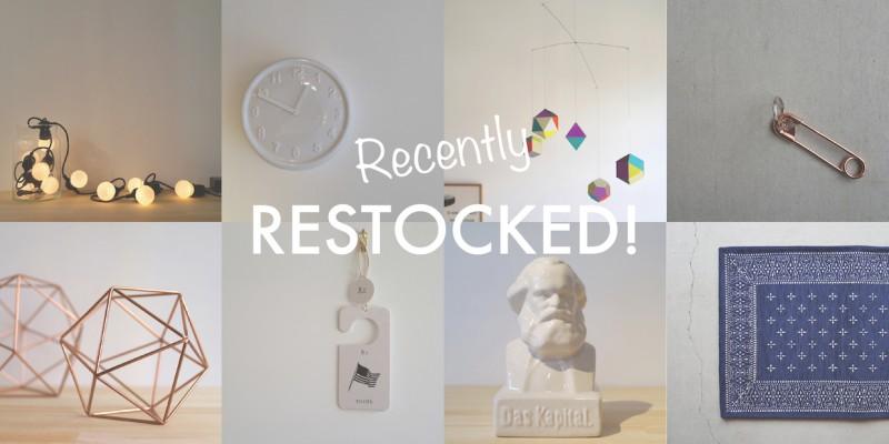 restocked